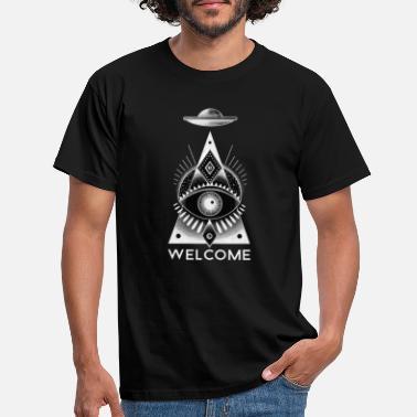 welcome - Men's T-Shirt