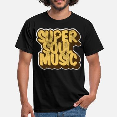 Soul Soul Music Black Music Jazz - T-skjorte for menn