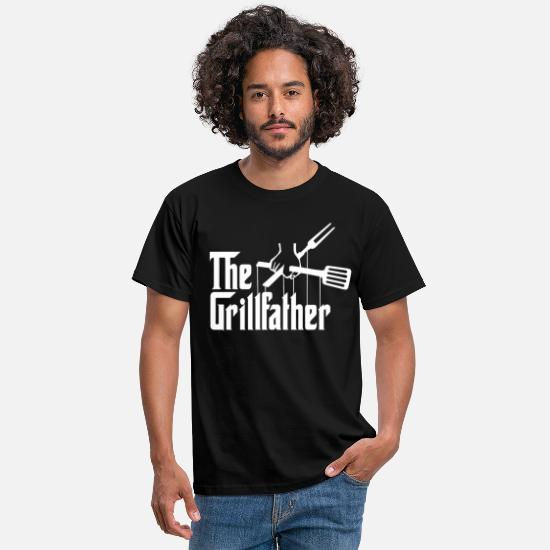 Grillfather T-skjorter - Grillfather - Shirt for grilling - T-skjorte for menn svart