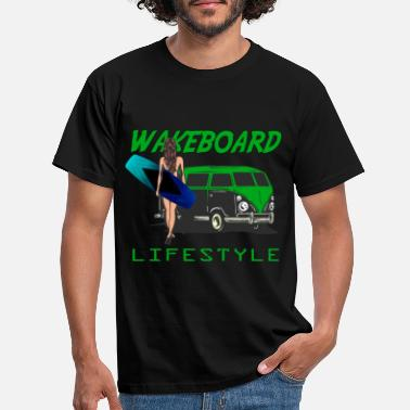 Wakeboard Wakeboard Lifestyle - Wakeboarder sind anders ...! - Männer T-Shirt