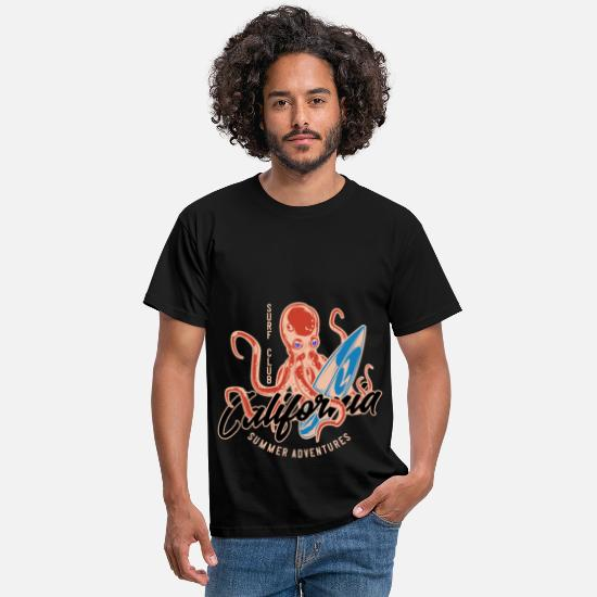 Waves T-Shirts - Surf Surfing Surfing Surfboard Surfboard SUP Gift - Men's T-Shirt black