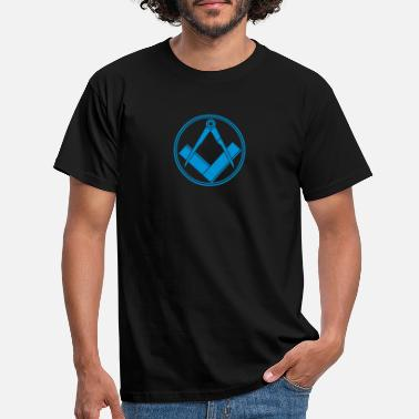 Atheism freemasonry - Men's T-Shirt