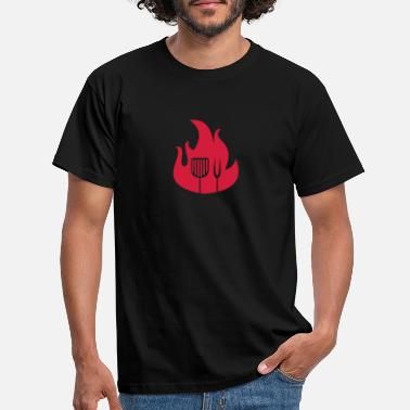Utensil Flame and grill utensils - Men's T-Shirt