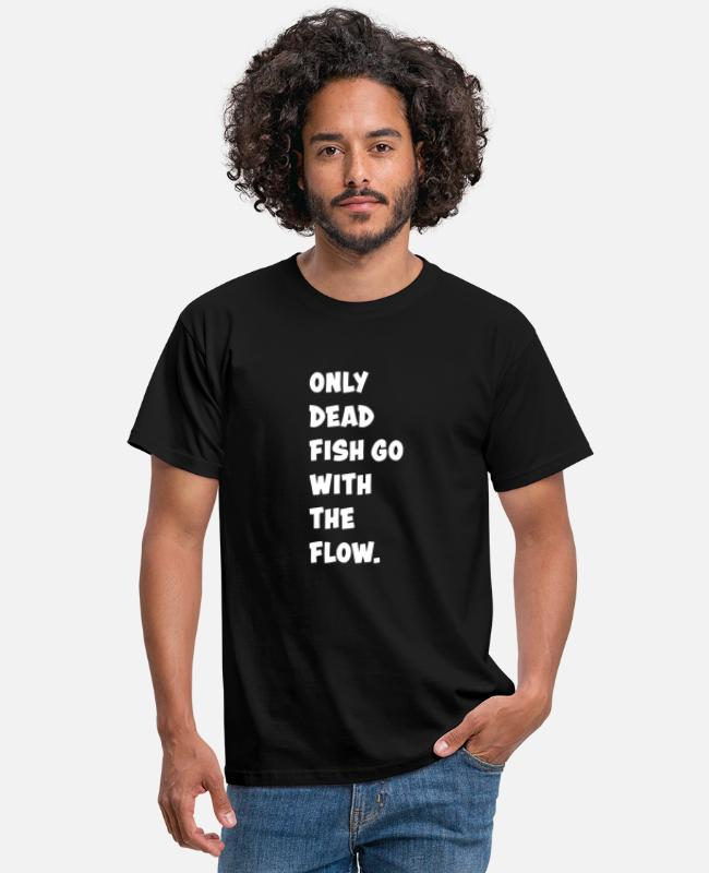 Quote T-shirts - Funny Funny Quote Funny Gift Grappig - Mannen T-shirt zwart