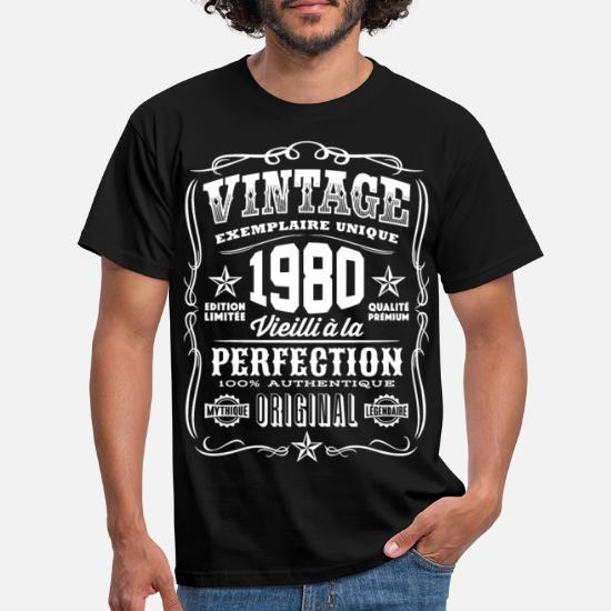 80TH ANNIVERSAIRE Fête Âge Année Cadeau TEE Personnalisé Made in 1939 VINTAGE Ringer