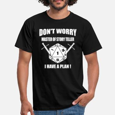 Rpg RPG Dice Dragons Don t worry Master Shirt - Männer T-Shirt