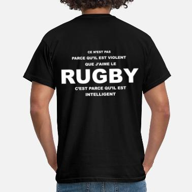 rugby_violent - T-shirt Homme