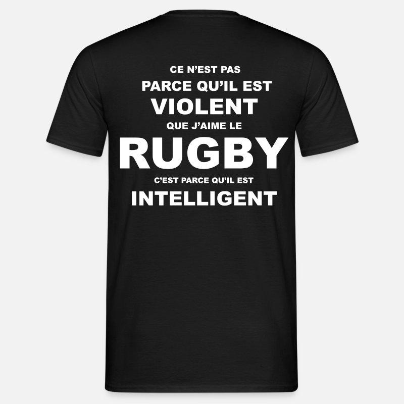 Rugby Kaki Vert Shirt Violent T Homme bgIfyY76v