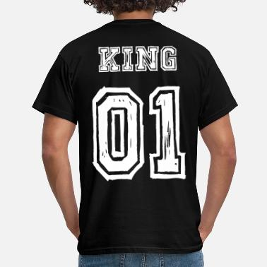 King & Queen King Queen - Männer T-Shirt