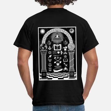 Tracing Board Black - T-shirt herr
