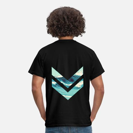 Waves T-Shirts - Wellenreiter rhombus - Men's T-Shirt black