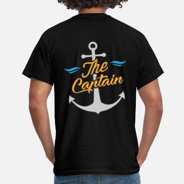 Capitaine Marin / Marin - Le capitaine et l'ancre - T-shirt Homme