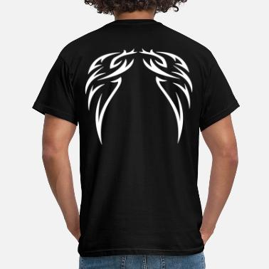 Dekoration tattoo wings - T-shirt herr