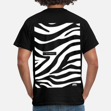 National Park Zebra Nation (Zebra Tight) 2019 Collection - Men's T-Shirt