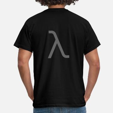 Lambda lambda gray1 - Men's T-Shirt