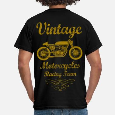 Motorcycle motorcycles racing team 02 - Men's T-Shirt