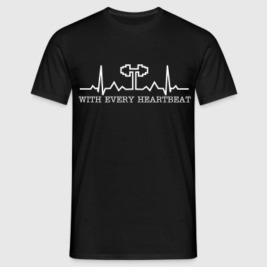 Heartbeat - Bodybuilding, Crossfit, Fitness - Camiseta hombre
