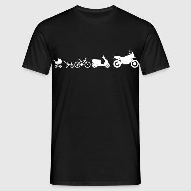 Enduro Adventure Evolution - Mannen T-shirt