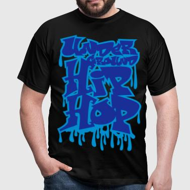 Graffiti hip_hop flex - Männer T-Shirt