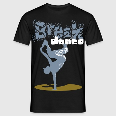 Breakdance flex - Männer T-Shirt