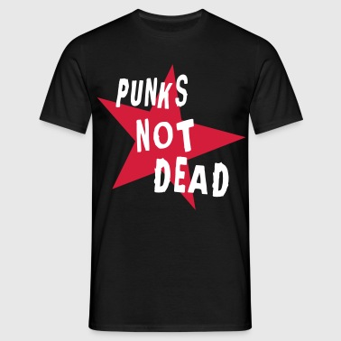 Punks Not Dead (Retro) - LuLucky ™ - NL - Mannen T-shirt