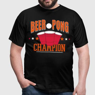 beerpong champion - T-shirt Homme