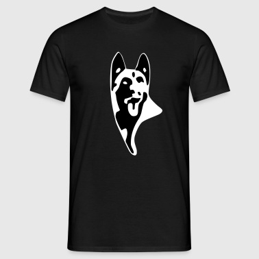 Malinois log - T-shirt Homme