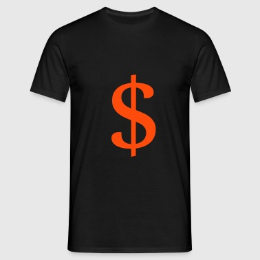 $ - Dollar - T-shirt Homme