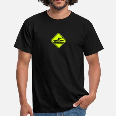 Roadsign Kayaking Roadsign - Men's T-Shirt