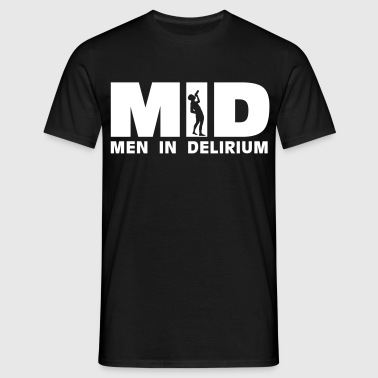 MID Men in Delirium - T-shirt Homme