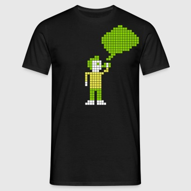 Retro Vaping - Pixels - T-shirt Homme