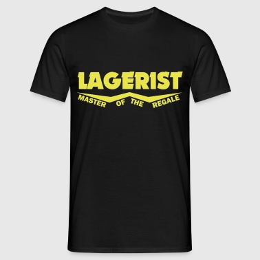 lagerist master of the regale - Männer T-Shirt