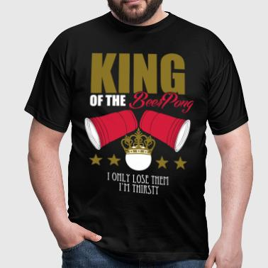 king_beerpong - T-shirt Homme