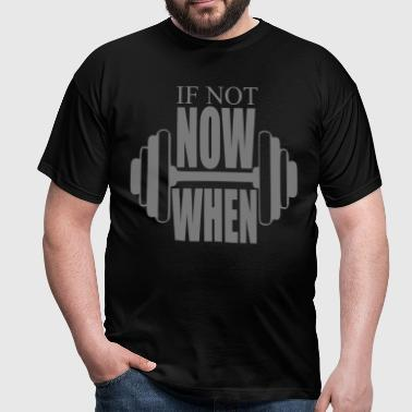 Gym Motto - Men's T-Shirt