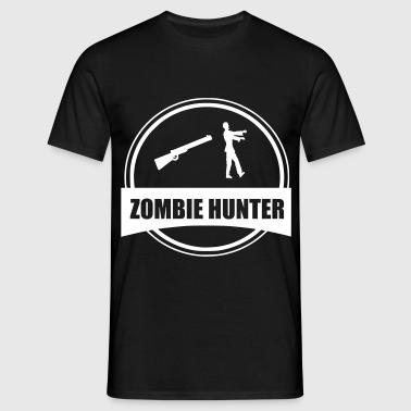 zombie hunter - Men's T-Shirt