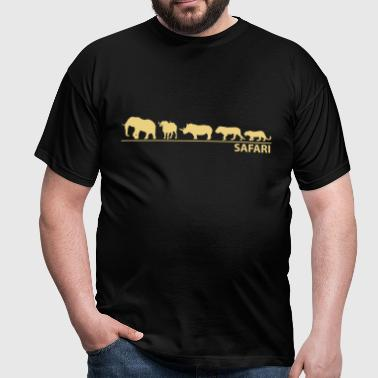 The big five - Männer T-Shirt