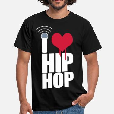 Dmc I Love Hip Hop - T-shirt Homme