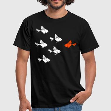 Against the Goldfish actual  - Camiseta hombre