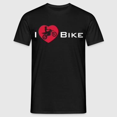 I Love my Enduro Bike - Mannen T-shirt