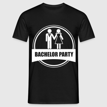 bachelor party - stag do  - Männer T-Shirt