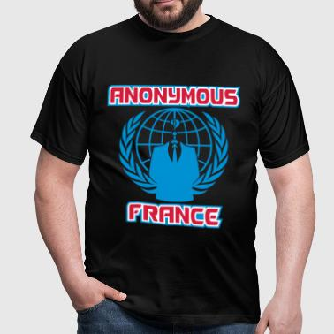 anonymous france - T-shirt Homme