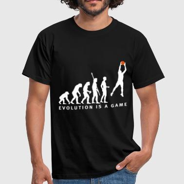 evolution_basketball_062011_b_2c - Men's T-Shirt