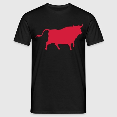 bull bullfighting animal - Men's T-Shirt