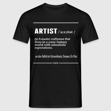 Artist Noun - Men's T-Shirt