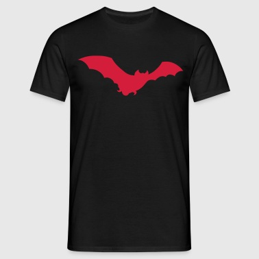 bat halloween - Men's T-Shirt
