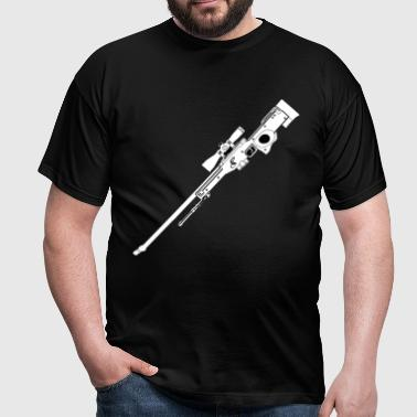 AWP Rifle Black - T-shirt herr