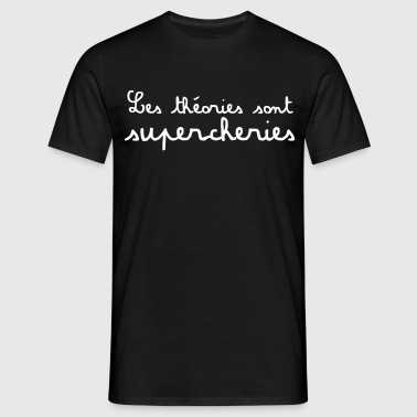 théories supercheries - T-shirt Homme