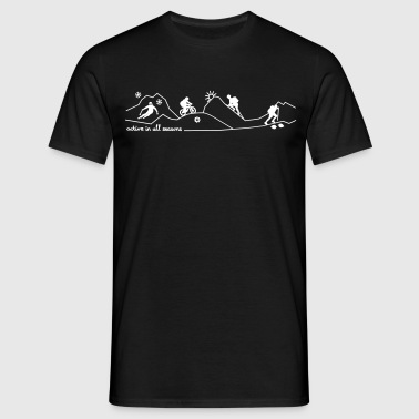 mountain season sports - Männer T-Shirt