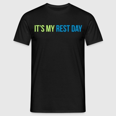 rest day - Herre-T-shirt