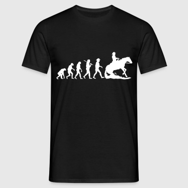 Evolution Mens Western Riding - Männer T-Shirt